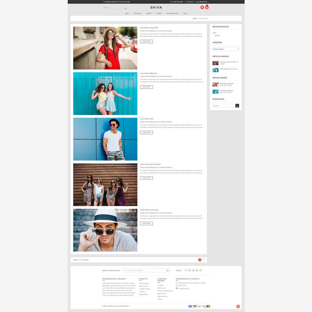 theme - Moda & Calzature - Negozio di moda Shiva - 6