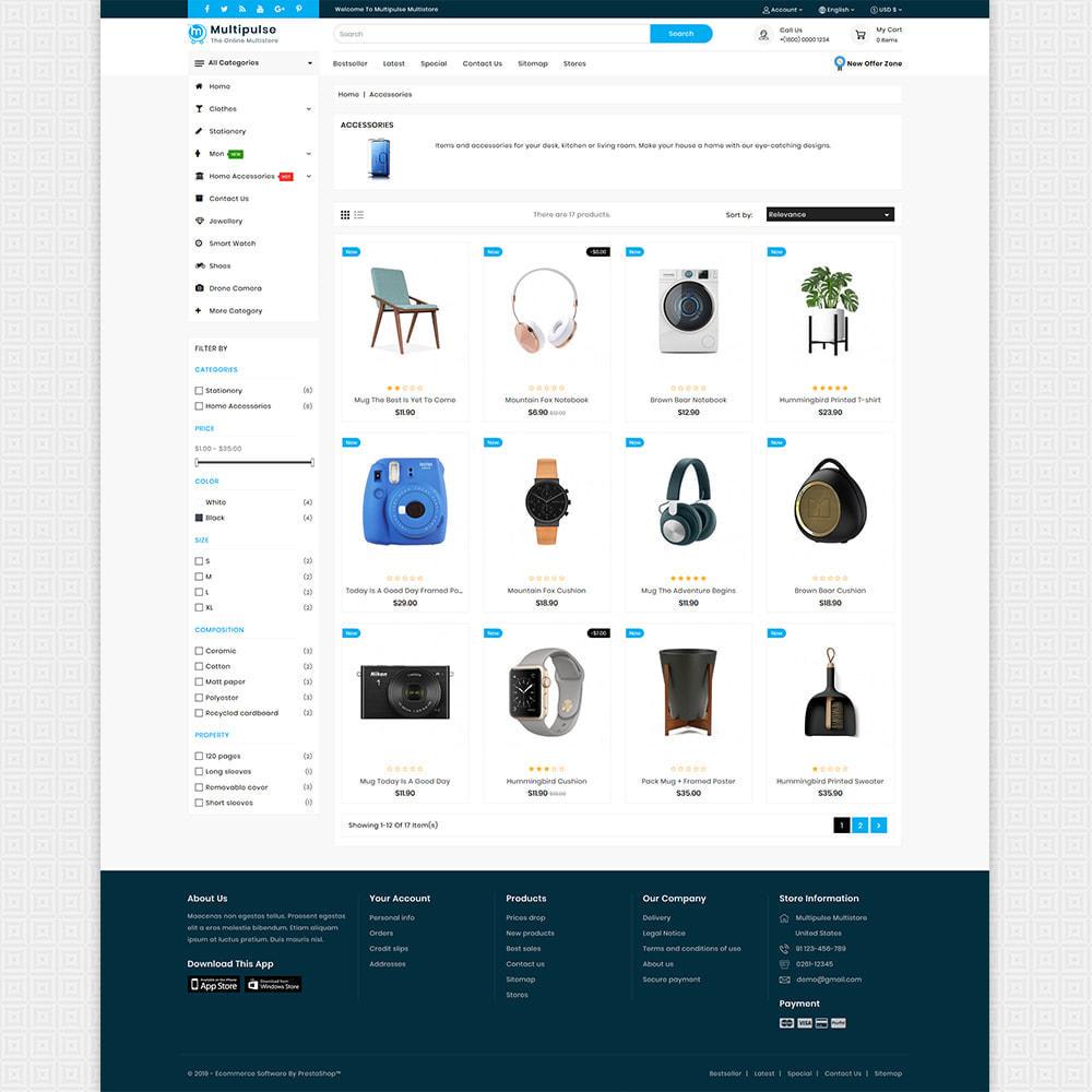 theme - Elettronica & High Tech - MultiPluse - Unique Super Multi Store - 2
