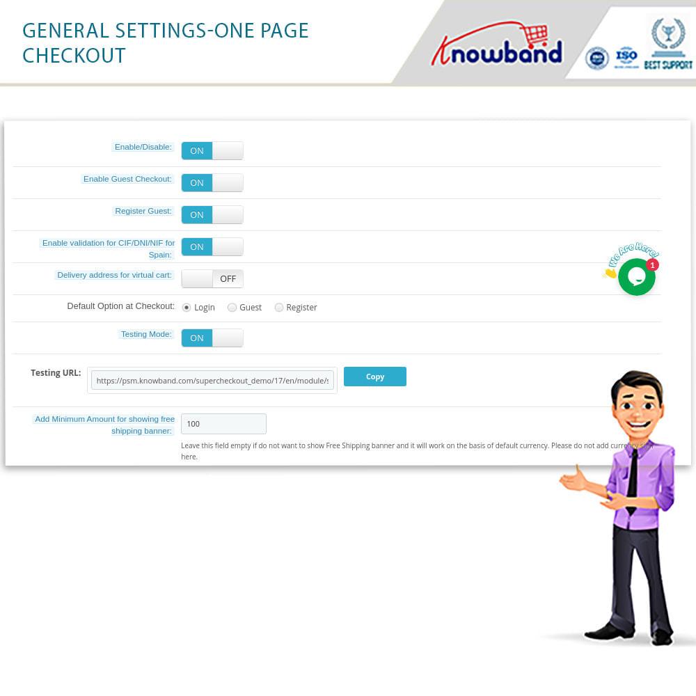 module - Express Checkout - One Page Checkout, Social Login & Mailchimp - 12