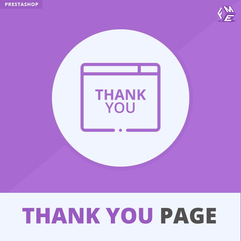 module - Promozioni & Regali - Pagina Di Ringraziamento Anticipata - 1