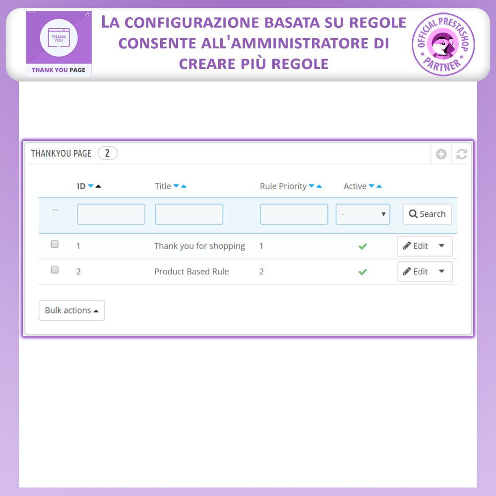module - Promozioni & Regali - Pagina Di Ringraziamento Anticipata - 2