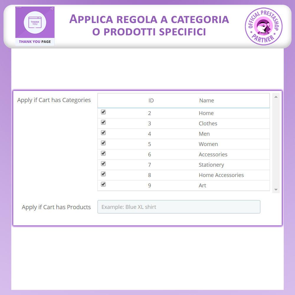 module - Promozioni & Regali - Pagina Di Ringraziamento Anticipata - 6