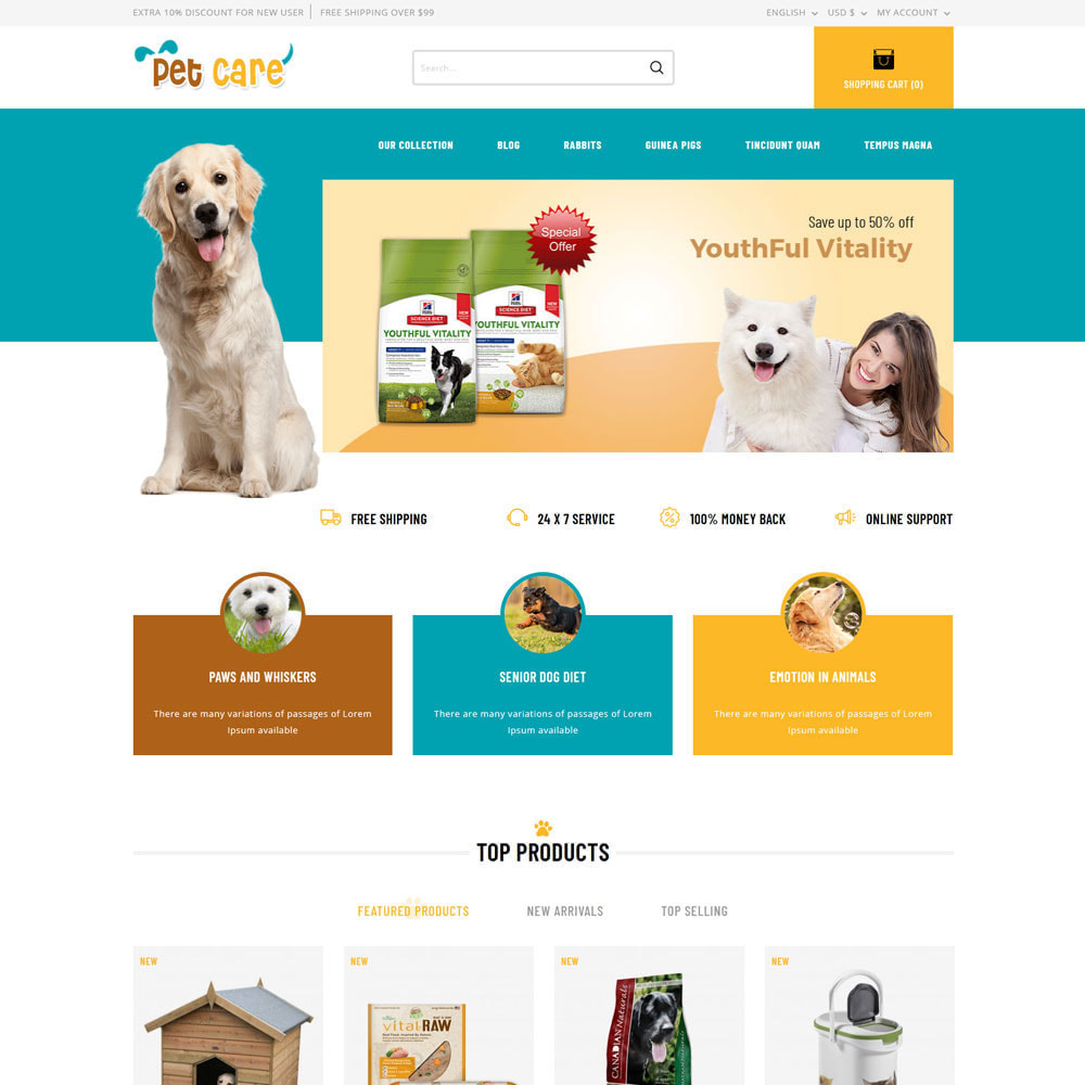 theme - Animals & Pets - Petscare - The Pet Store - 6