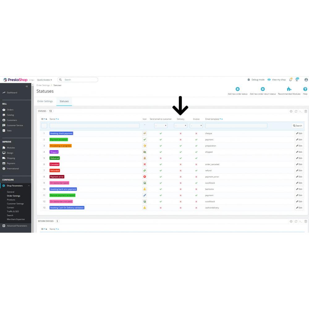 module - Contabilità & Fatturazione - Delivery slip pdf e-mail copy - 4