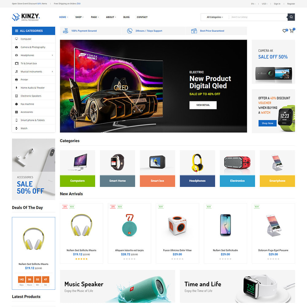 theme - Auto's & Motoren - Zero01 - Supermarket Store - 1