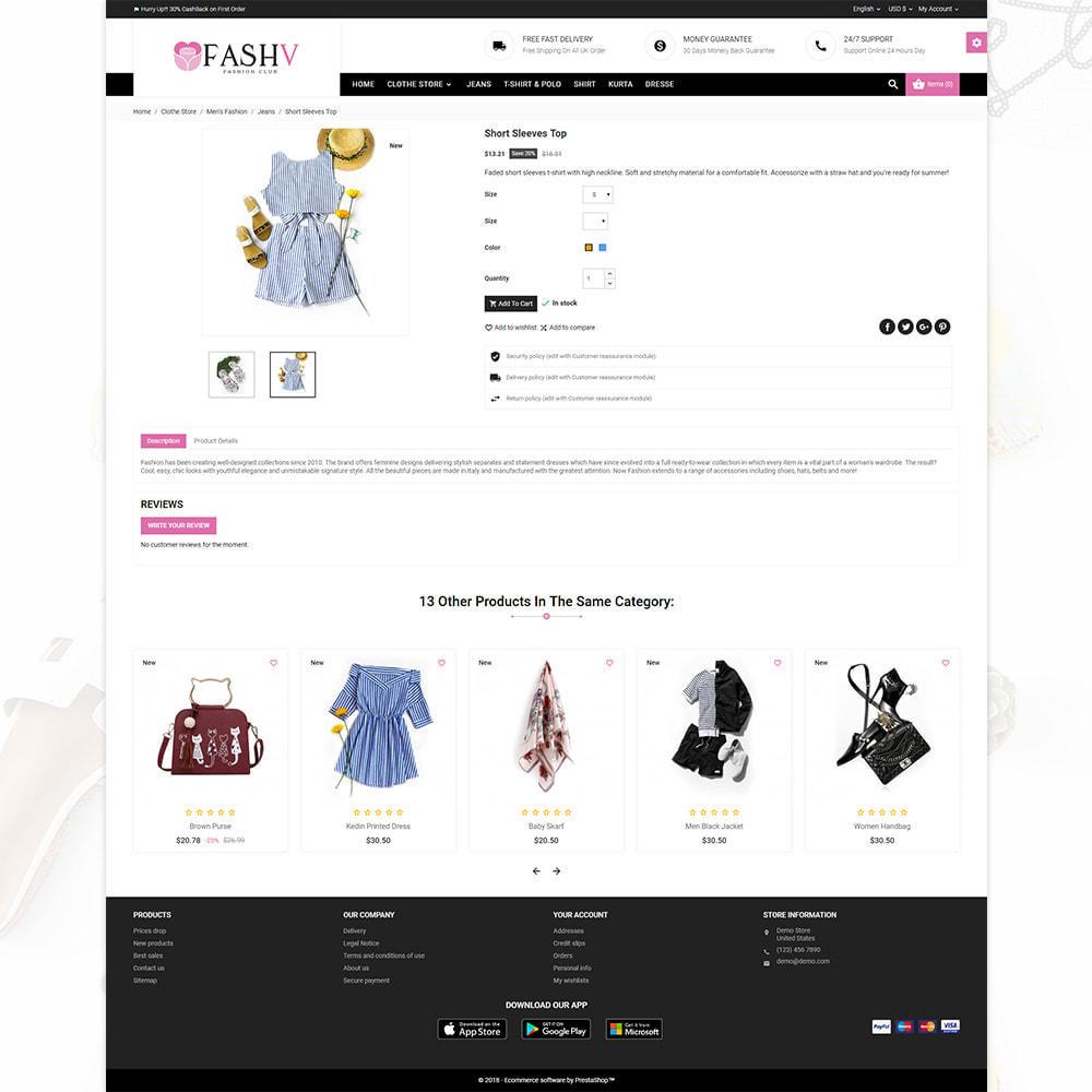 theme - Mode & Schoenen - FashV – Fashion Stylish Super Store - 4