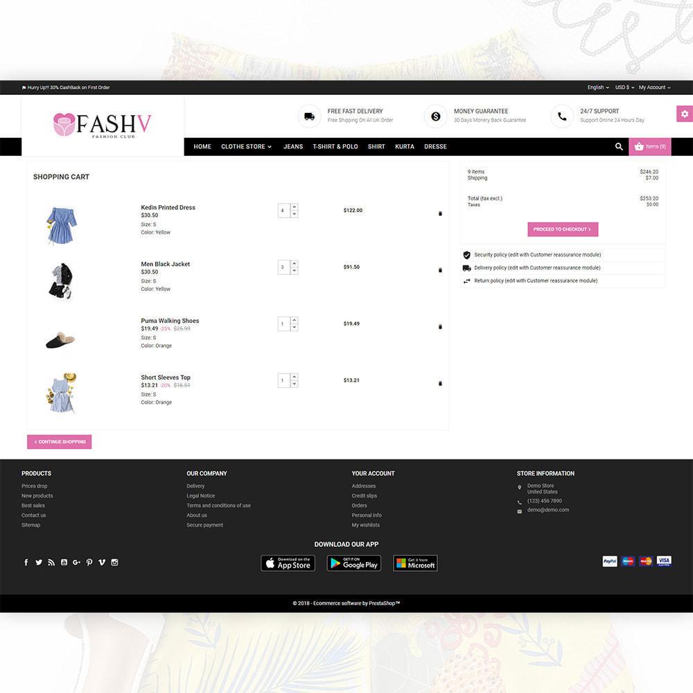 theme - Mode & Schoenen - FashV – Fashion Stylish Super Store - 5