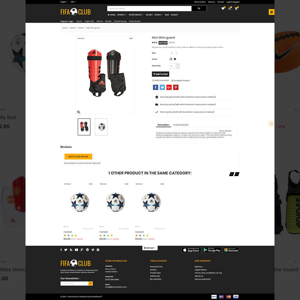 theme - Sport, Attività & Viaggi - Fifa Club Sports–Accessories Store - 4