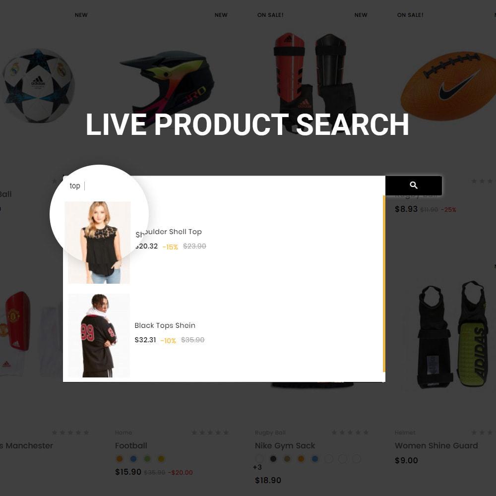 theme - Sport, Attività & Viaggi - Fifa Club Sports–Accessories Store - 8