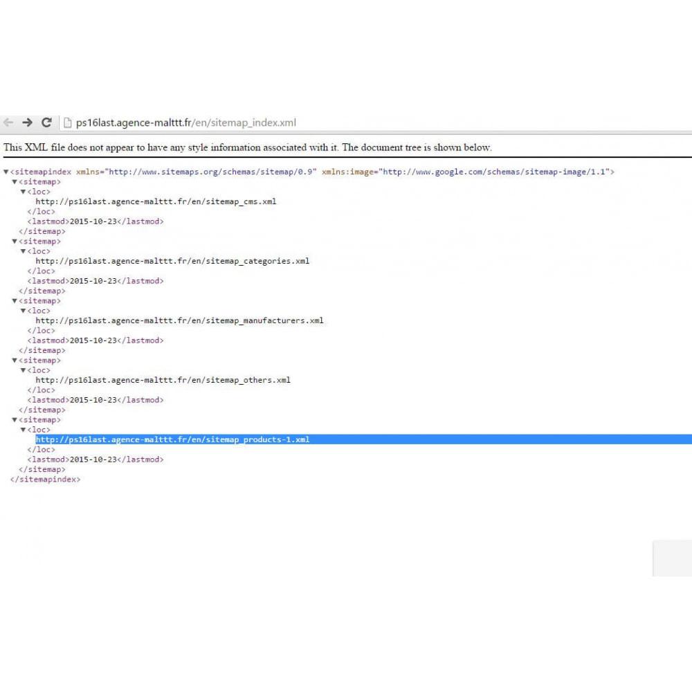 module - SEO (Posicionamiento en buscadores) - Sitemap Simple (multitienda, multiidioma & blogs) - 2