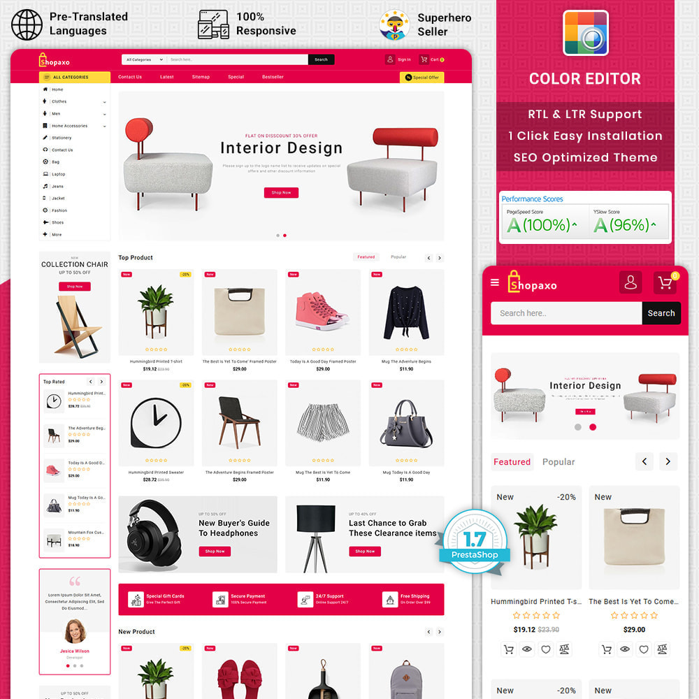 theme - Elettronica & High Tech - Shopaxo - Super Market Electronics Store - 1