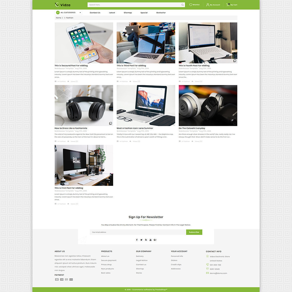 theme - Electronics & Computers - Vidza - Mega Electronics Store - 6