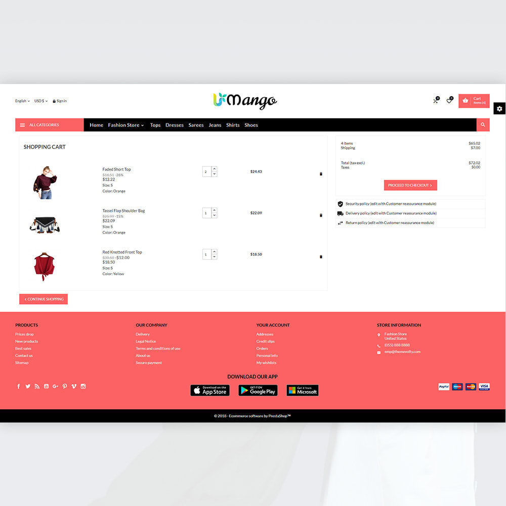theme - Fashion & Shoes - Mango – Fashion and Stylish Mega Shop - 5
