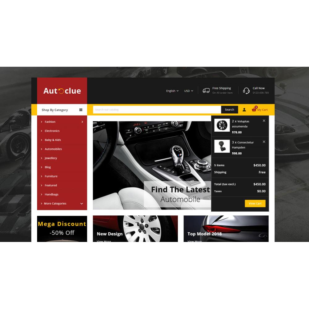 theme - Automotive & Cars - Autoclue - Automobile Store - 8