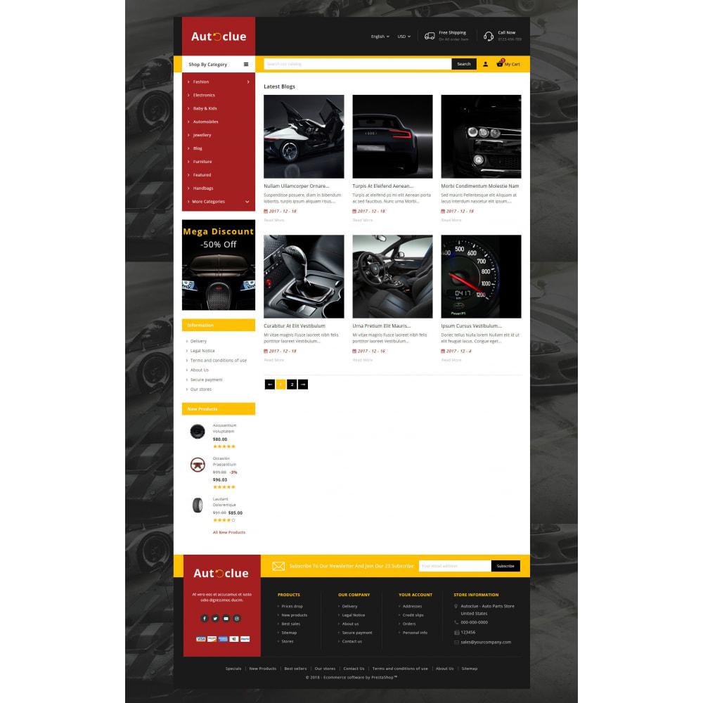 theme - Automotive & Cars - Autoclue - Automobile Store - 9