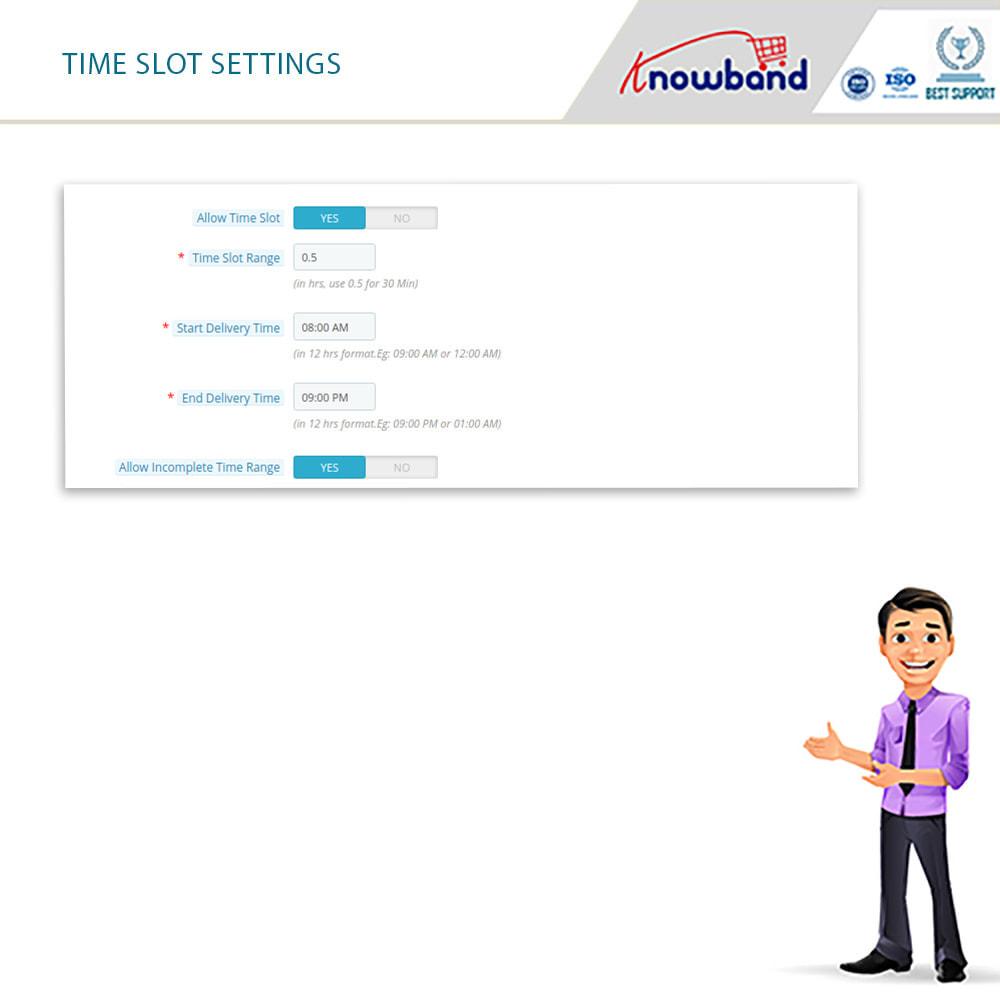 module - Fecha de entrega - Knowband - Tiempo de Entrega Preferido - 3