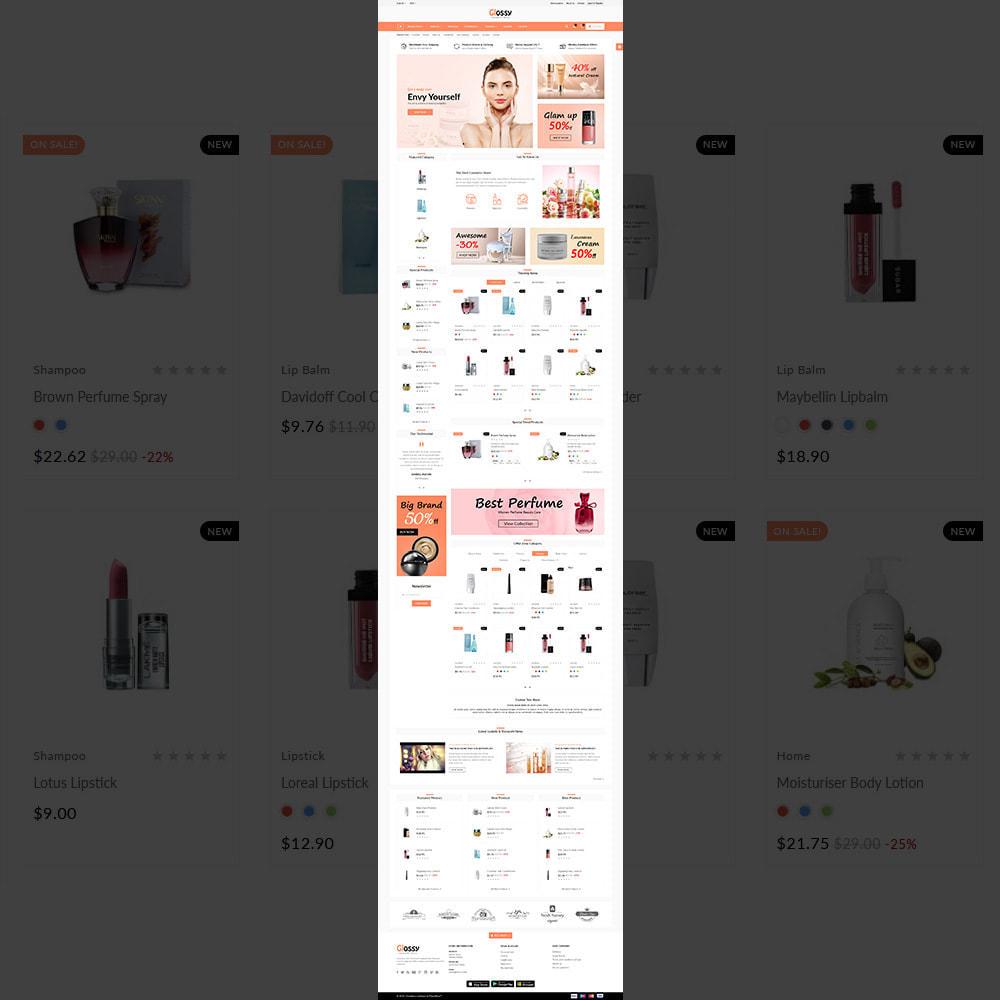 theme - Health & Beauty - France Glossy - Cosmetic Mega Shop - 2