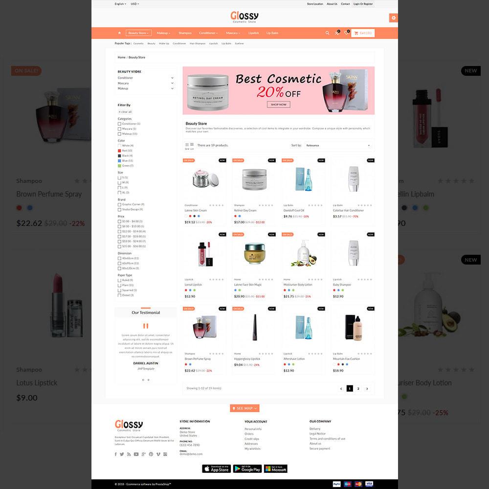 theme - Health & Beauty - France Glossy - Cosmetic Mega Shop - 3