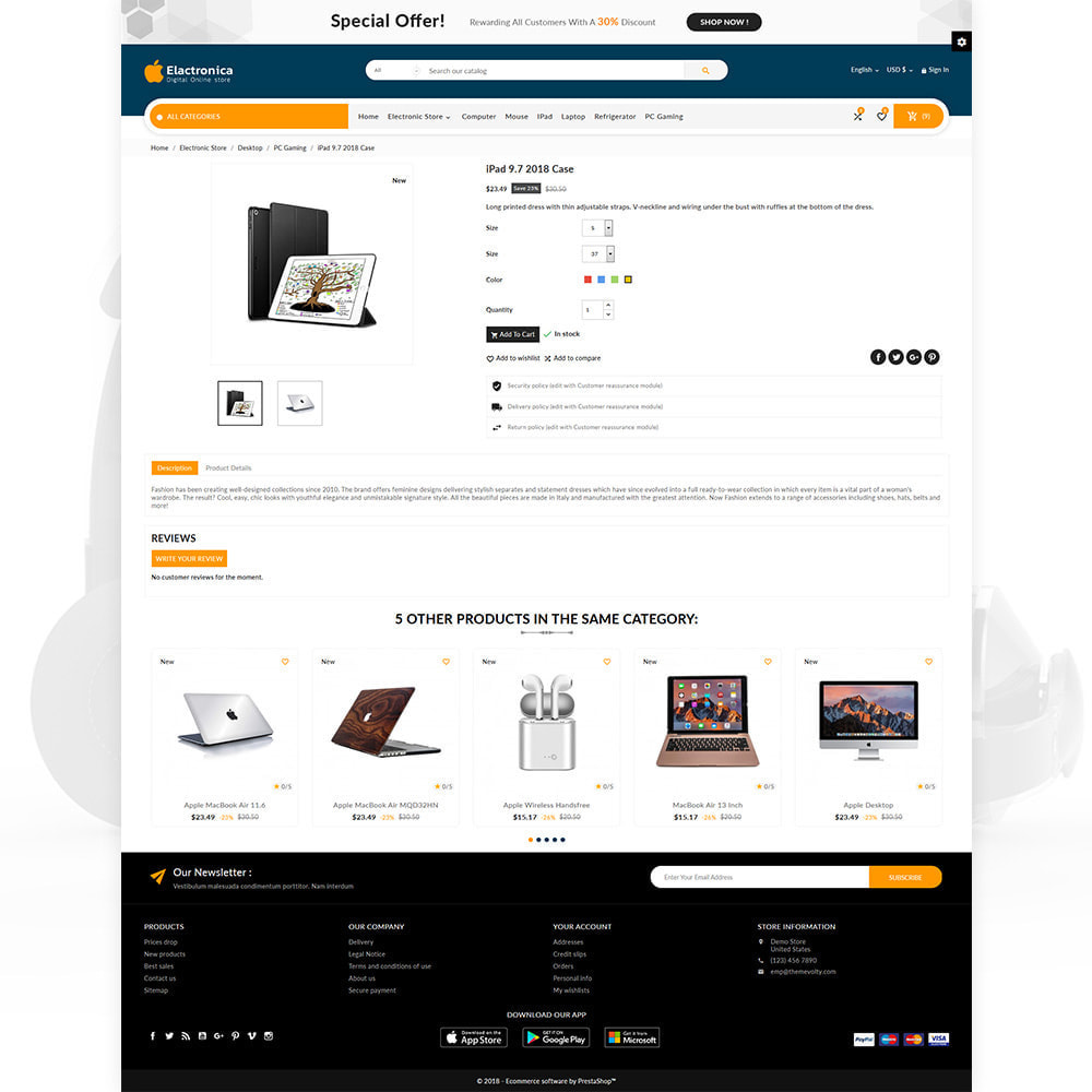 theme - Elektronika & High Tech - Electronica – Electronic Multipurpose Store - 4