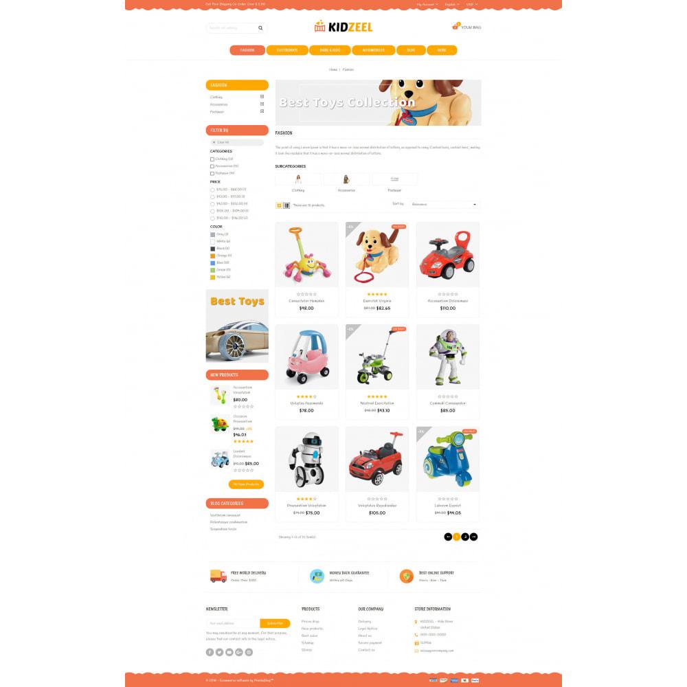 theme - Kinder & Spielzeug - KidZeel - Toys Store - 3