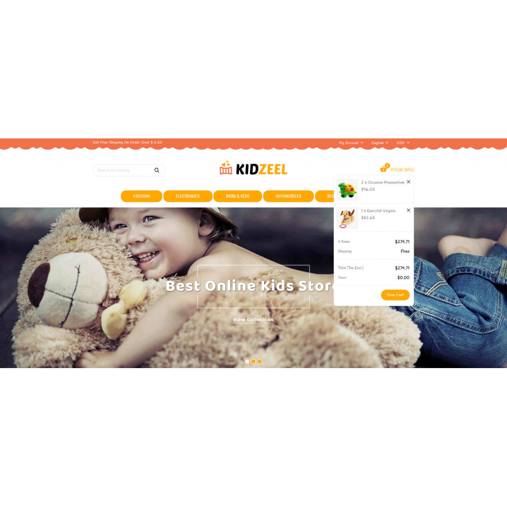 theme - Kinder & Spielzeug - KidZeel - Toys Store - 8