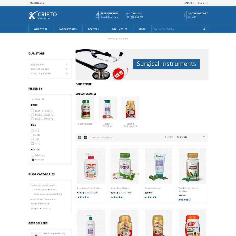 theme - Health & Beauty - Cripto - Mega Medicine Store - 4