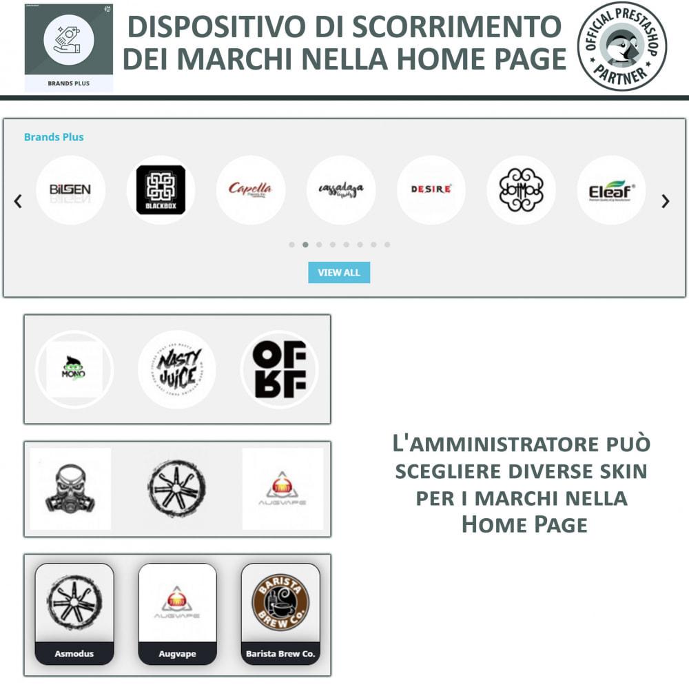 module - Marche & Produttori - Brands Plus - Marche e Carosello dei Produttori - 3