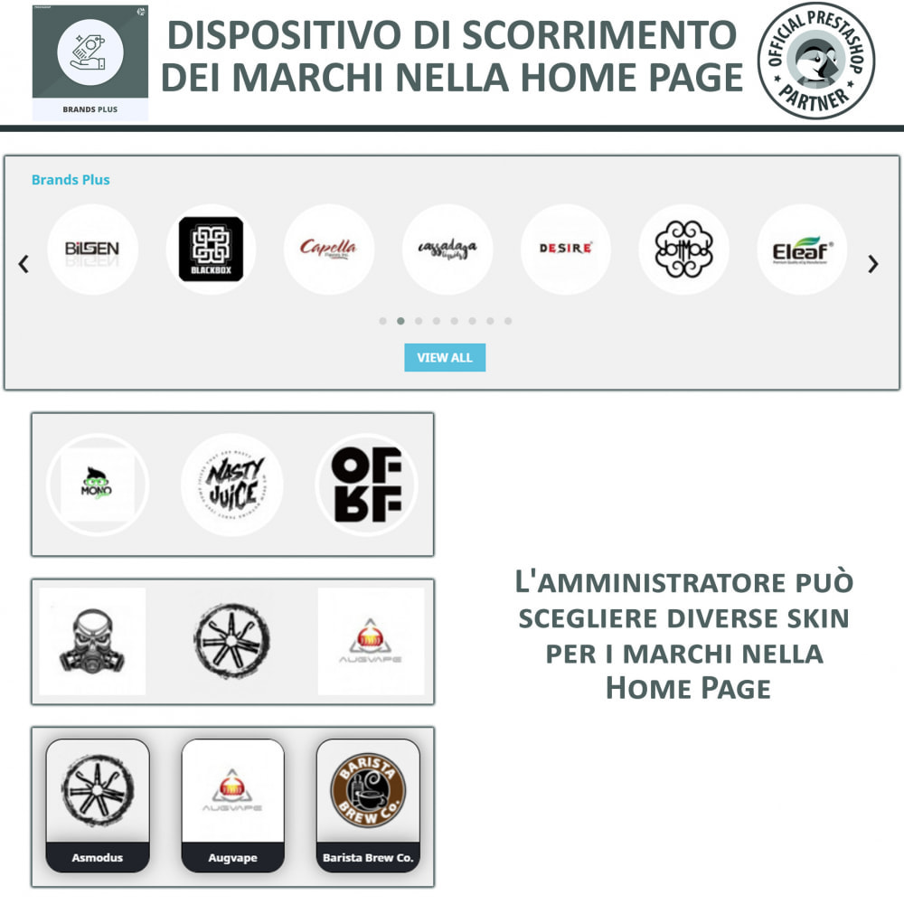module - Marche & Produttori - Brands Plus - Responsive Brands & Manufacturer Carousel - 3