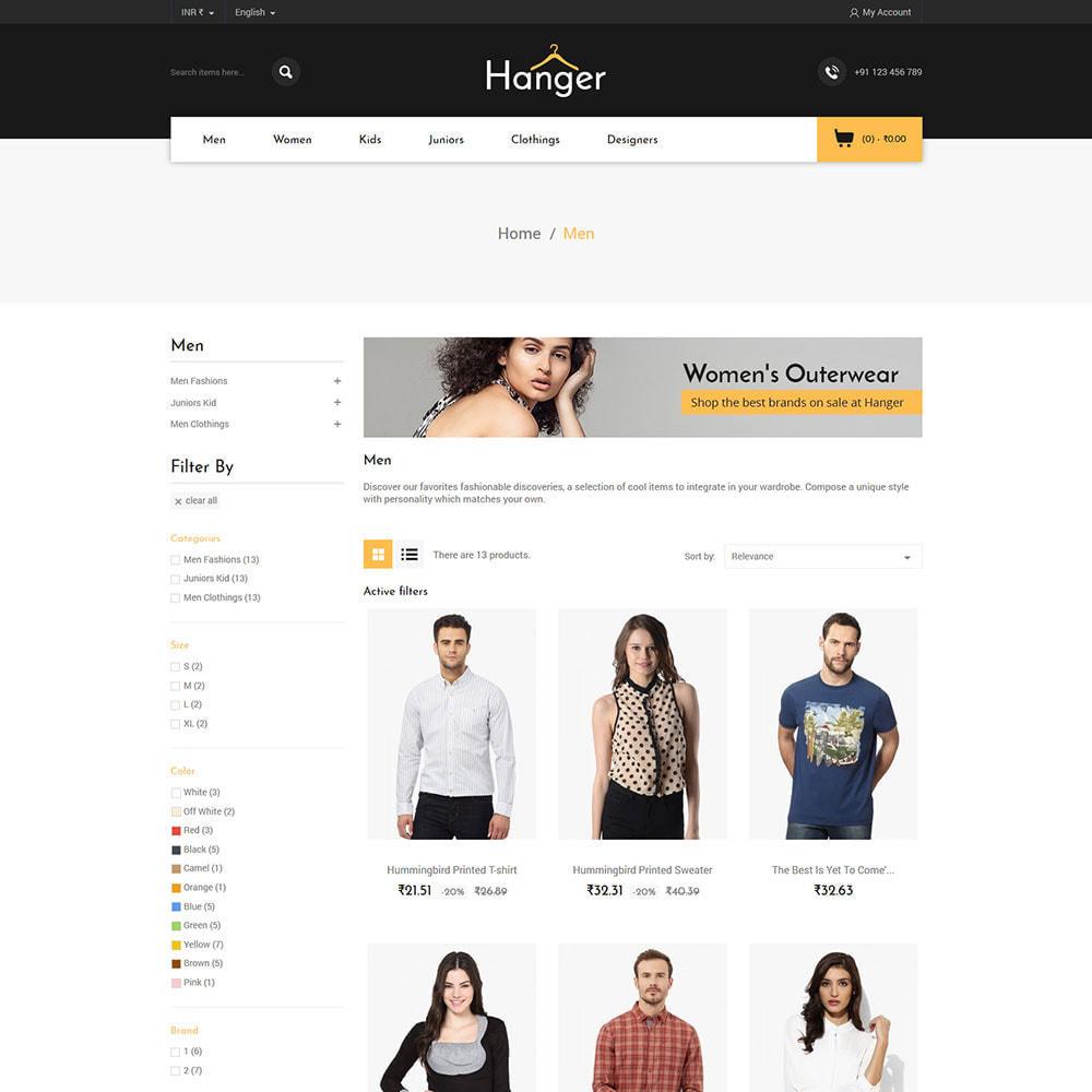 theme - Fashion & Shoes - Fashion Designer - Parallax Style Store - 2