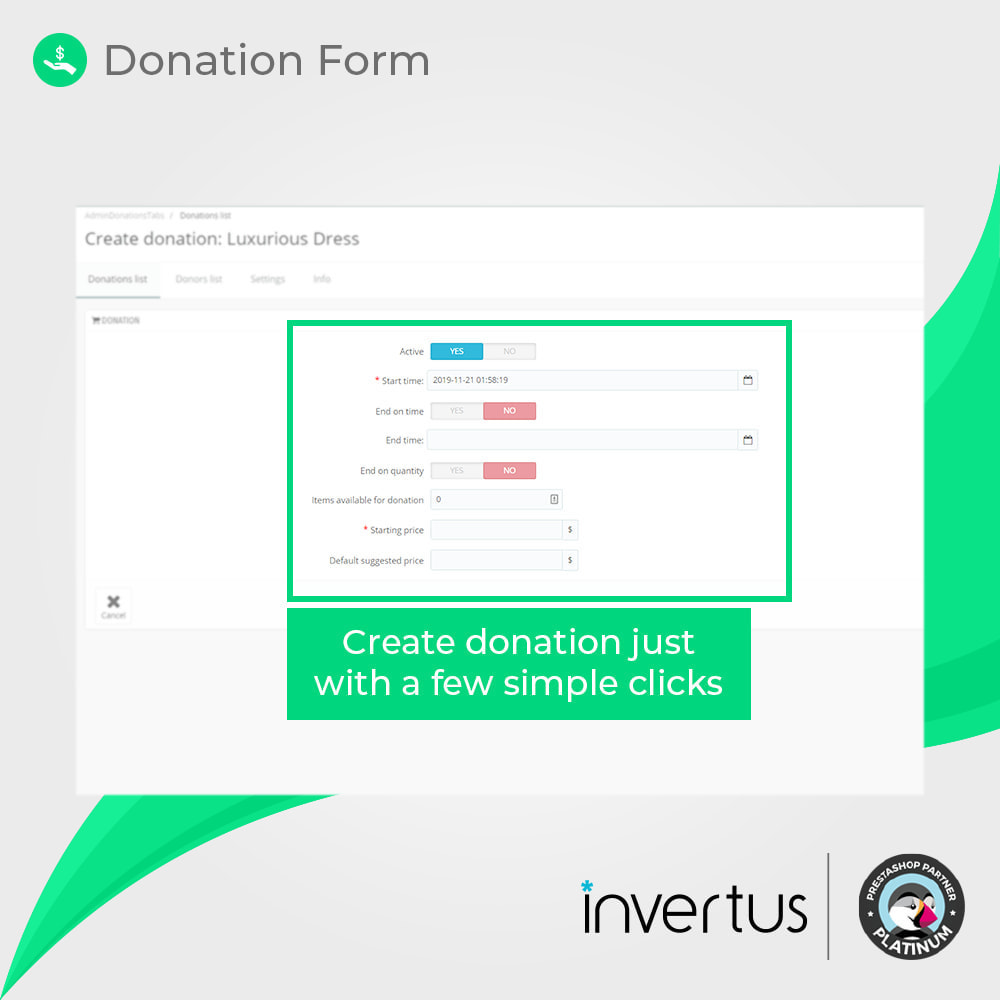 module - Other Payment Methods - Donations Simple - 4