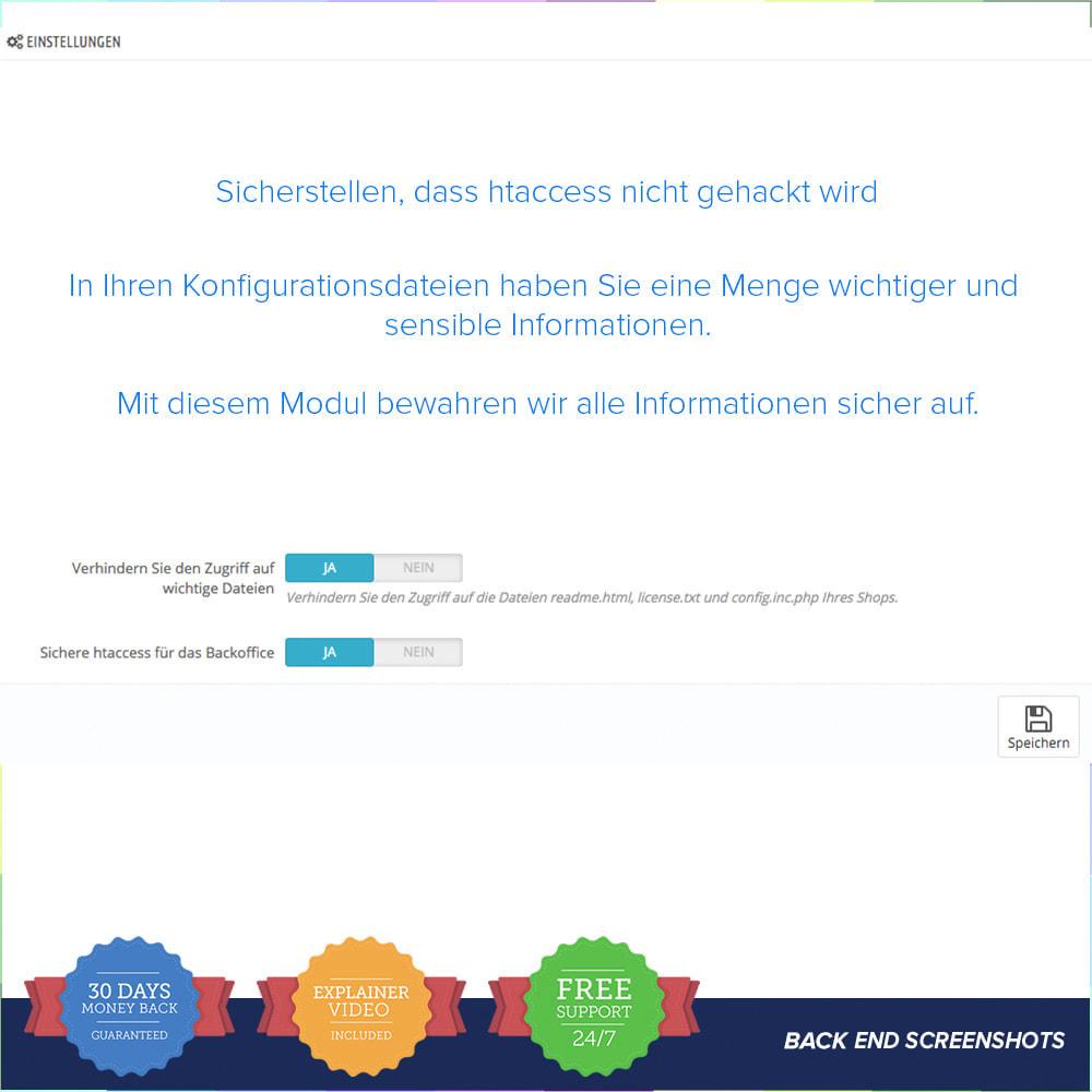module - Sicherheit & Brechtigungen - Einfache Sicherheit / Anti SQL Injection PRO - 3