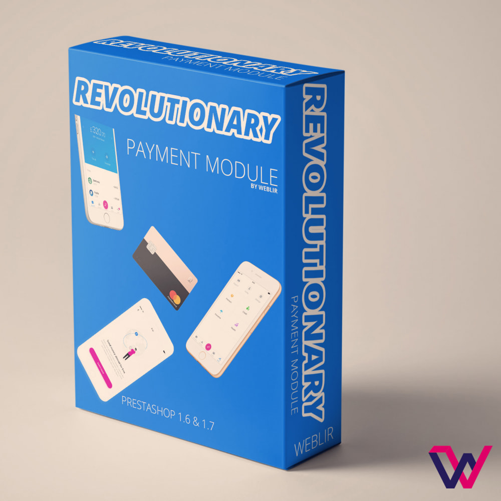 module - Pago con Tarjeta o Carteras digitales - Revolutionary Manual Payments - 1