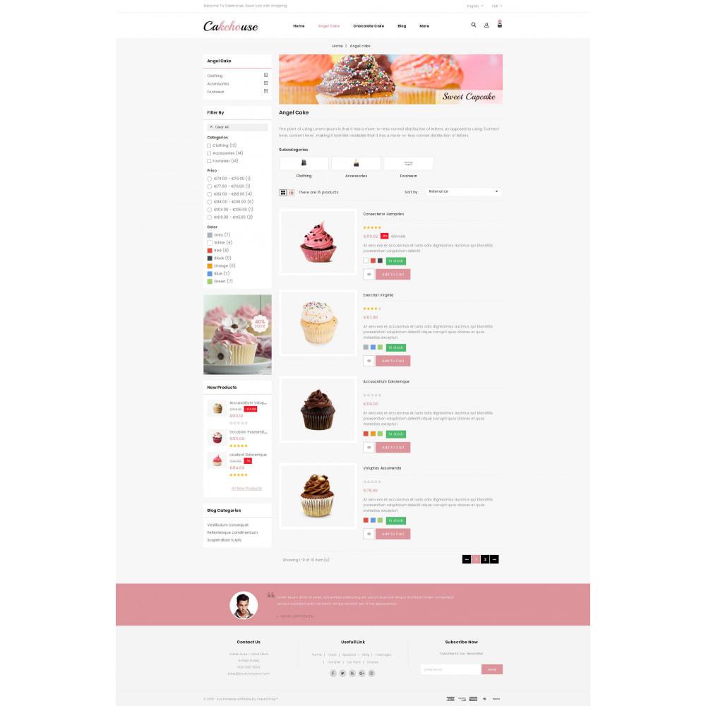 theme - Żywność & Restauracje - Cackehouse - Sweet Cake Store - 4
