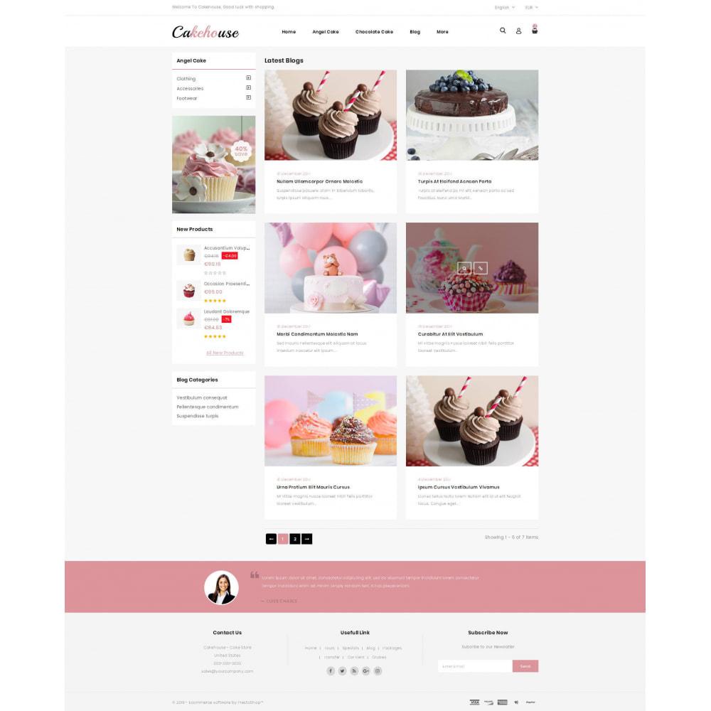 theme - Żywność & Restauracje - Cackehouse - Sweet Cake Store - 9