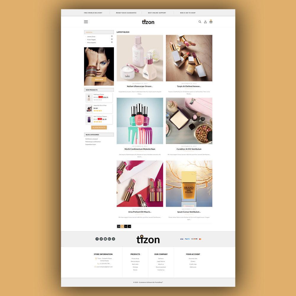 theme - Zdrowie & Uroda - Tizon - Cosmetic Store - 7