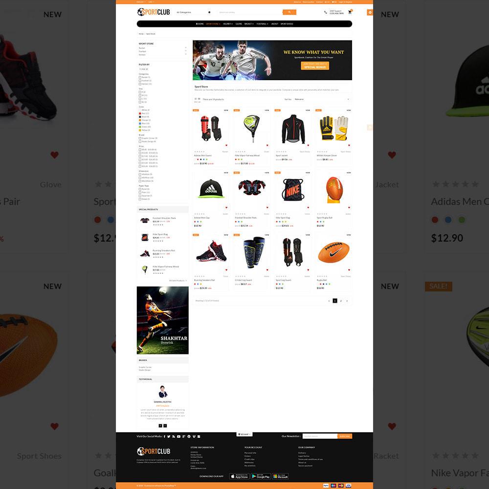 theme - Sport, Rozrywka & Podróże - Sport Club - Gym Fitness Equipment Store - 3