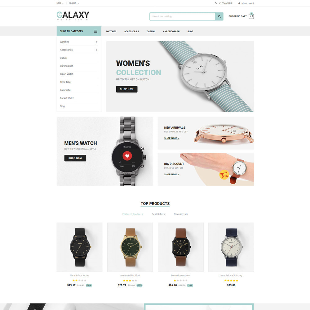 theme - Cadeaus, Bloemen & Gelegenheden - Galaxy - Watch Shop - 2
