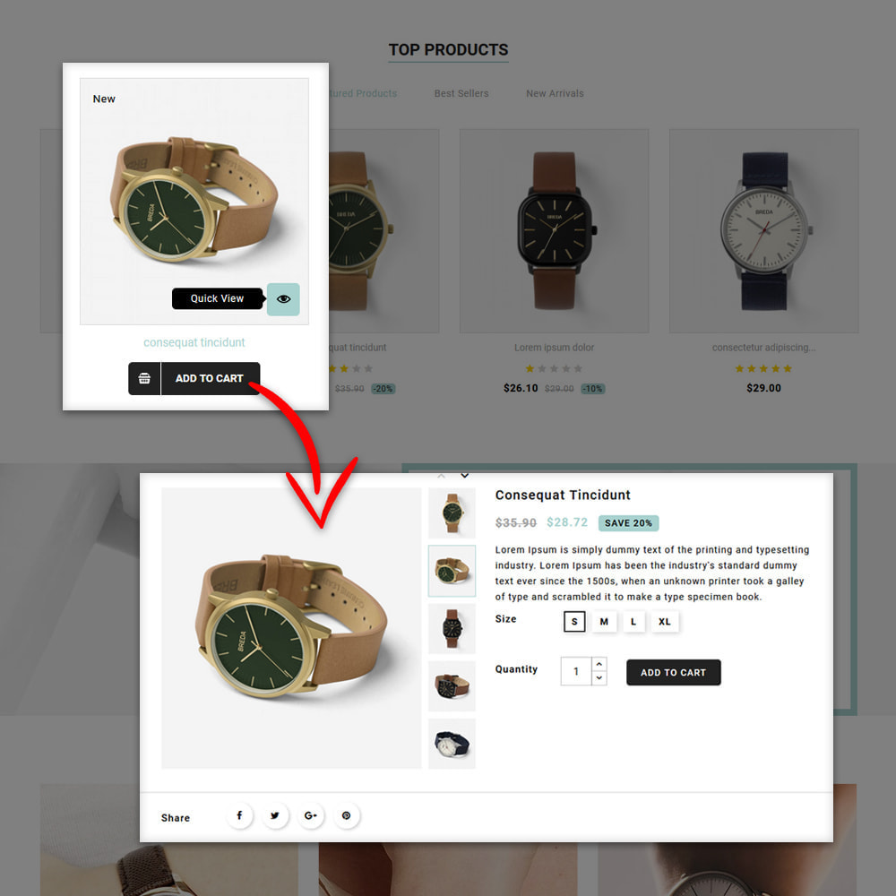 theme - Cadeaus, Bloemen & Gelegenheden - Galaxy - Watch Shop - 9