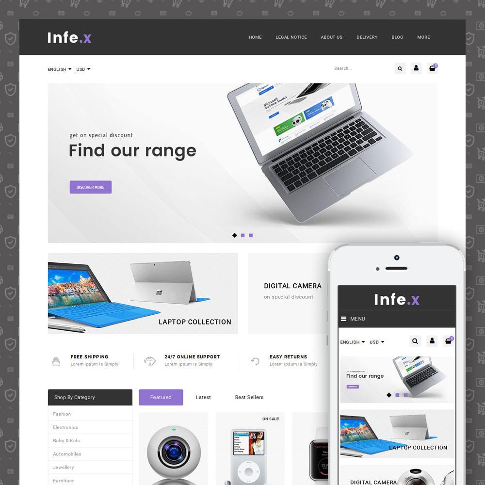 theme - Elektronika & High Tech - Infex - Electronic Store - 1