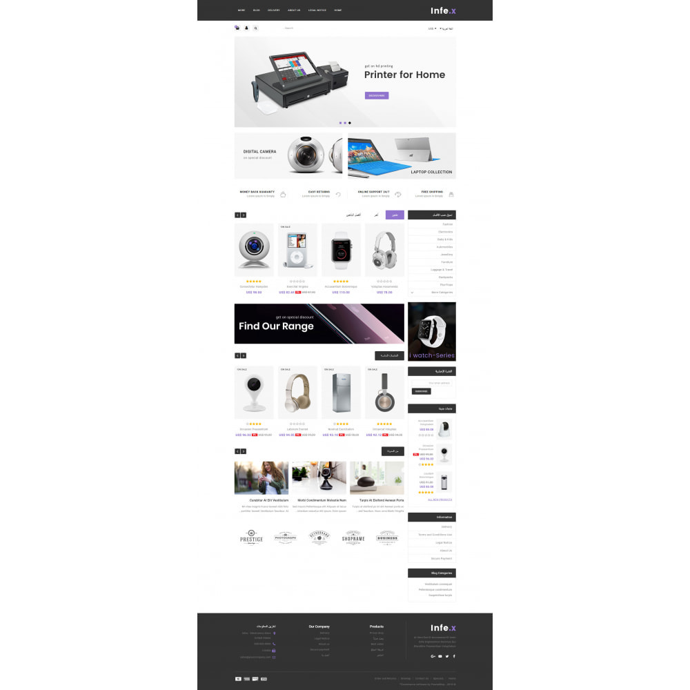 theme - Elektronika & High Tech - Infex - Electronic Store - 10