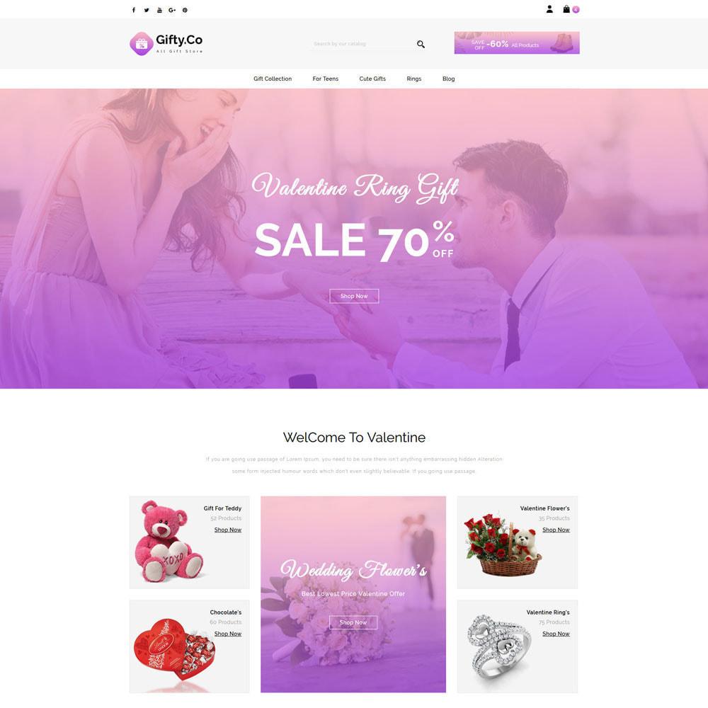 theme - Prezenty, Kwiaty & Uroczystości - Gifty Co - Gift Shop - 2