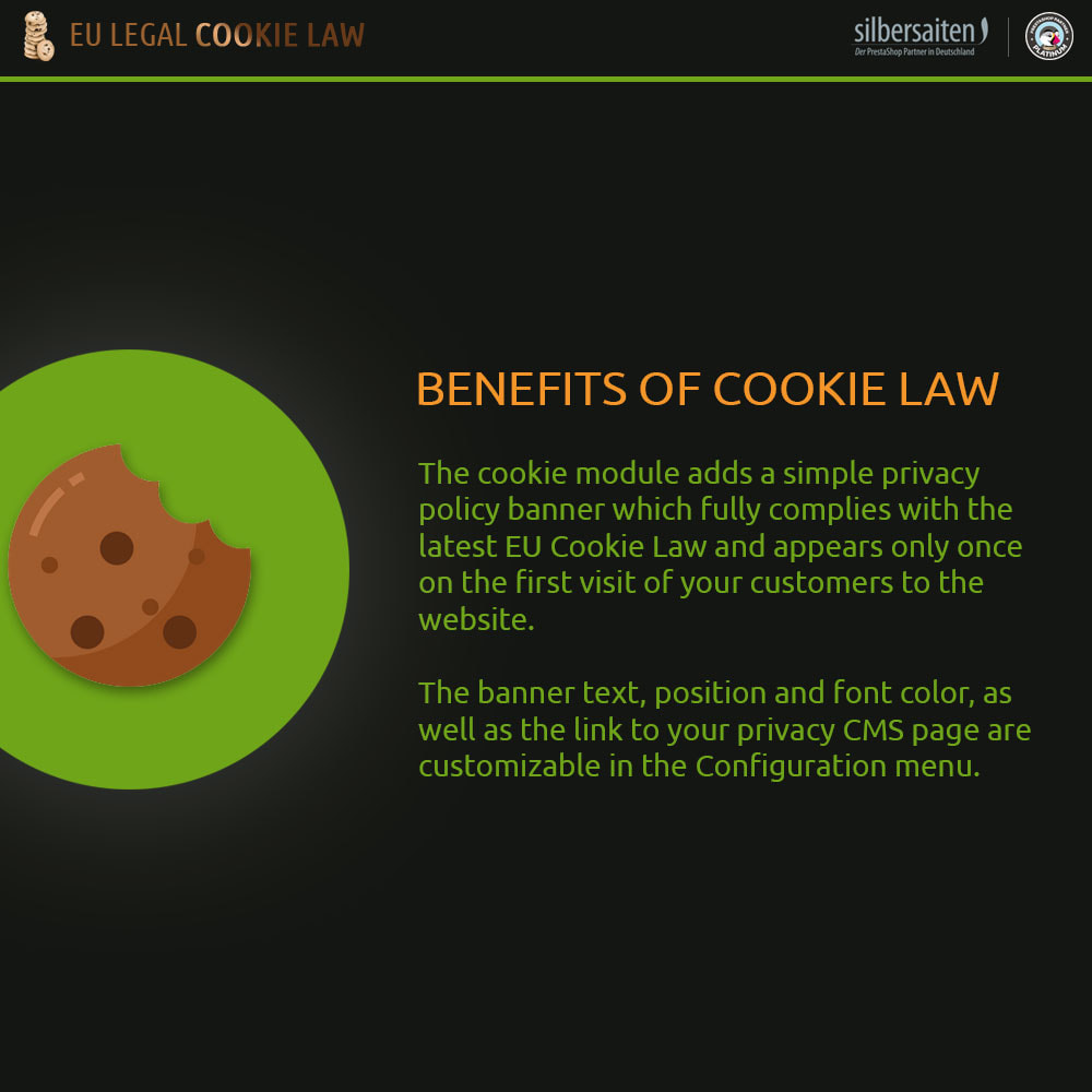 module - Legale (Legge Europea) - Cookie Law - 1