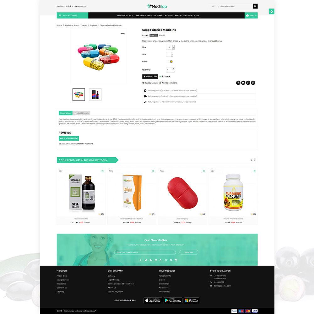 theme - Zdrowie & Uroda - MediTap – Medical Mega Mart - 5