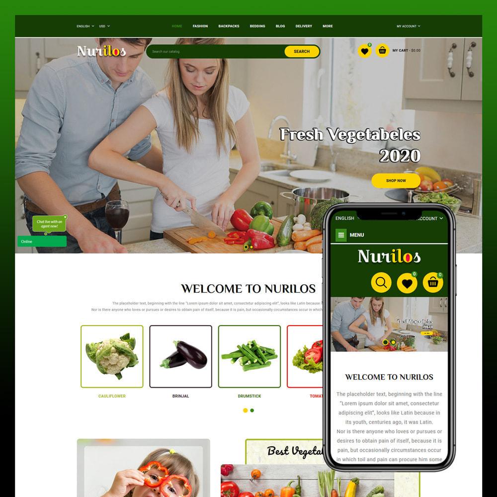 theme - Żywność & Restauracje - Nurilos - Vegetable Store - 1