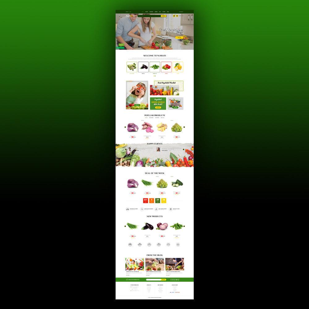 theme - Żywność & Restauracje - Nurilos - Vegetable Store - 3