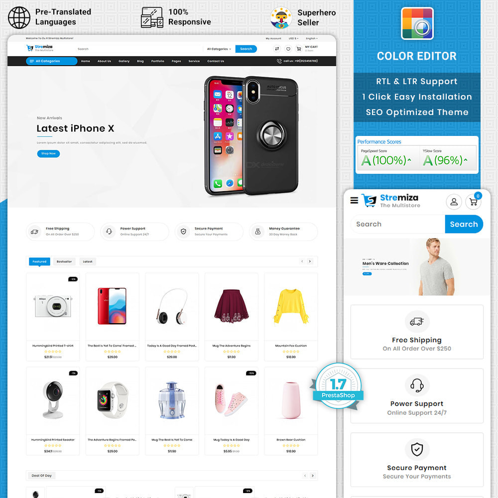 theme - Elektronika & High Tech - Stremiza - Super Market Electronics Store - 1