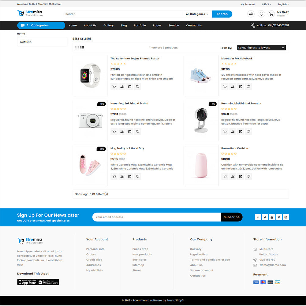theme - Elektronika & High Tech - Stremiza - Super Market Electronics Store - 5