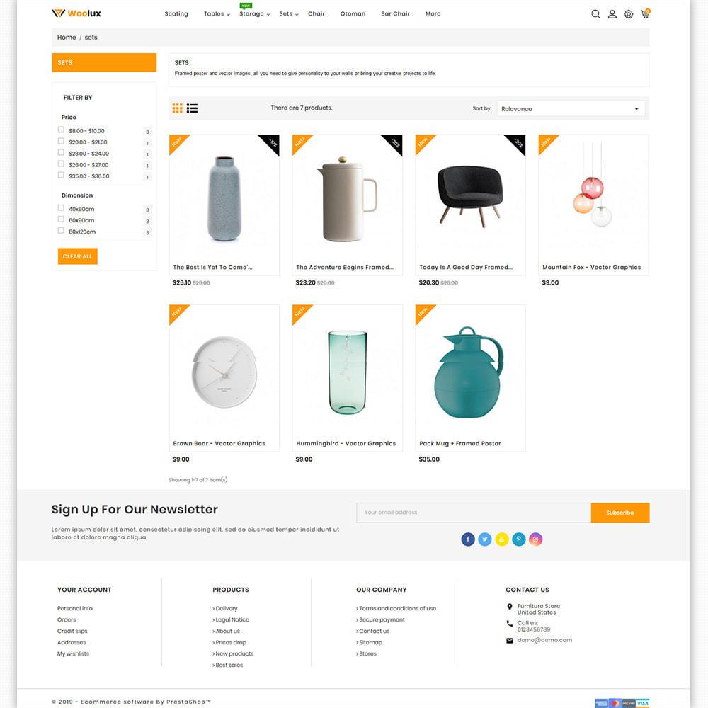 theme - Heim & Garten - Woolux - Furniture & Interior Home Decor - 5