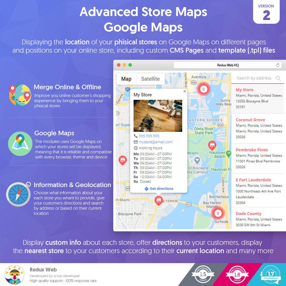module - Internacional & Localização - Mapa avançado de lojas - Google Maps - 1
