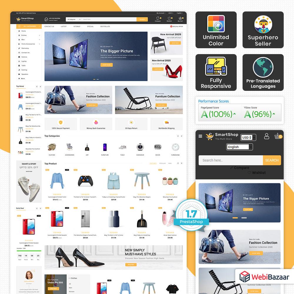 theme - Elektronika & High Tech - Smart Shop - Super Electronics Mart - 1